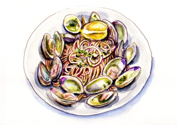 Day 10 - Pasta And Clams