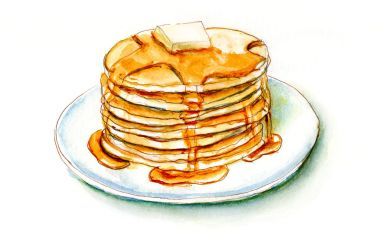 Day 7 - Maple Syrup and Pancakes