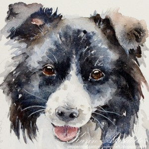 Dog Original – Watercolor