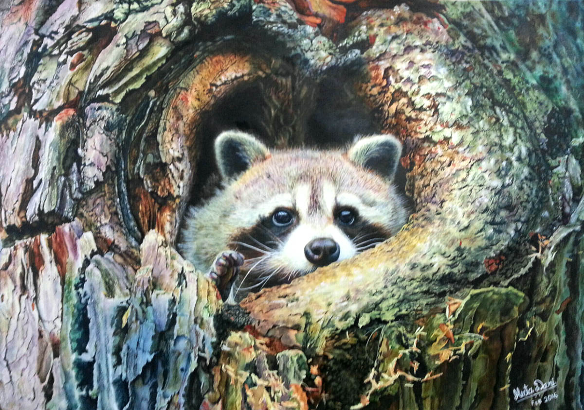 #WorldWatercolorGroup - Photorealistic Watercolor by Meeta Dani - Doodlewash
