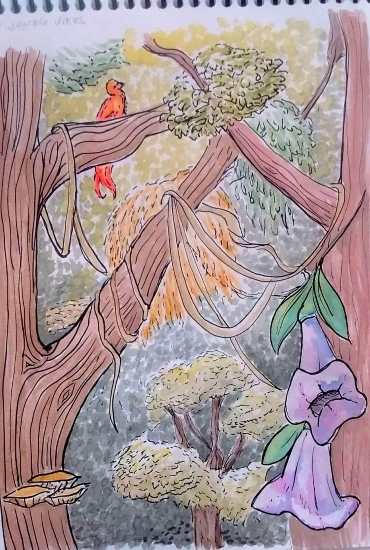 Rainforest landscape 😀 jungle_vines_by_saironwen-db3innd