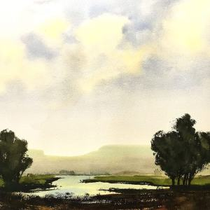 """""""Summer Solitude"""" – Original Watercolor"""