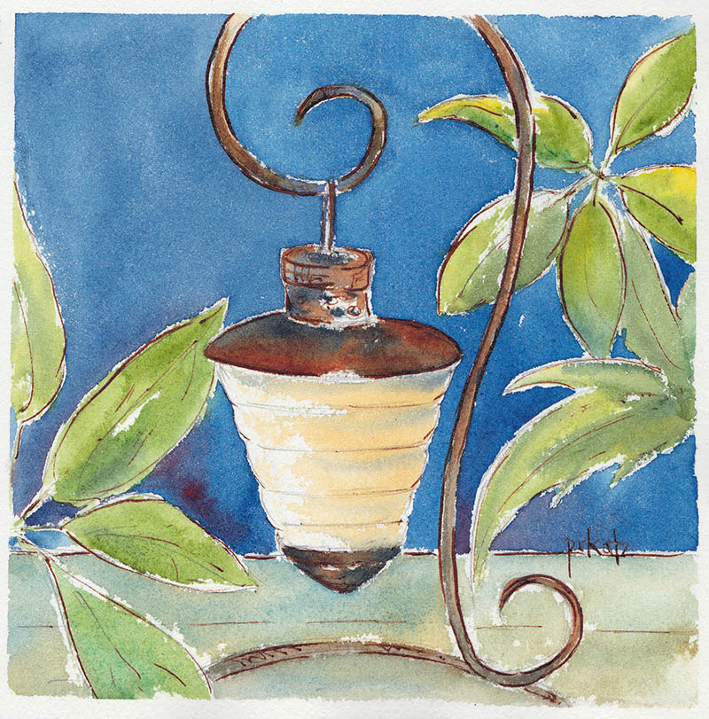 #WorldWatercolorGroup - Watercolor Painting by Patricia Katz - Doodlewash