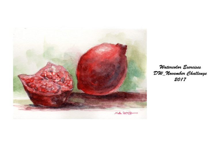 Pecans are not very familiar with me.I've replaced Pomegranates for Day 10 because I've