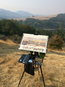 Plein Air Watercolor Painting with Vinita Pappas - Doodlewash