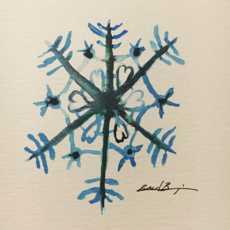 Day 26 – Snowflakes – I think I'll let God handle the snowflakes from now on. LOL. #wa