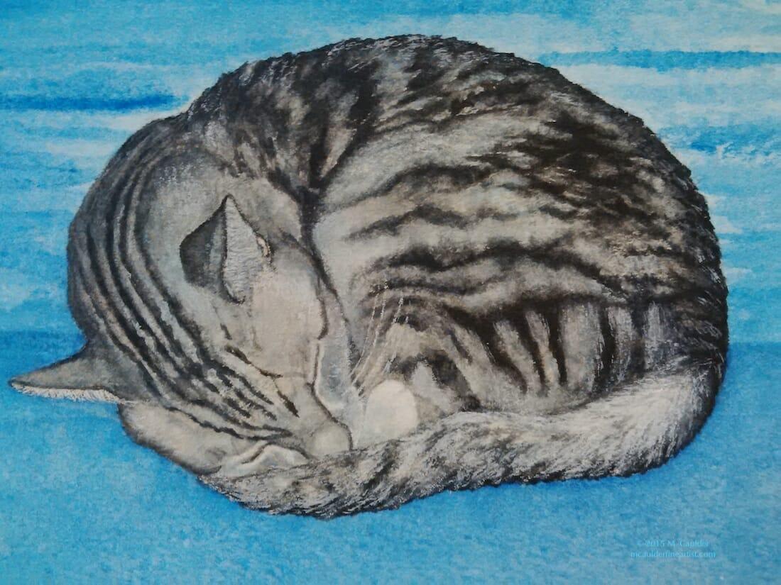 #WorldWatercolorGroup - Watercolor by Miste Caulder - Doodlewash