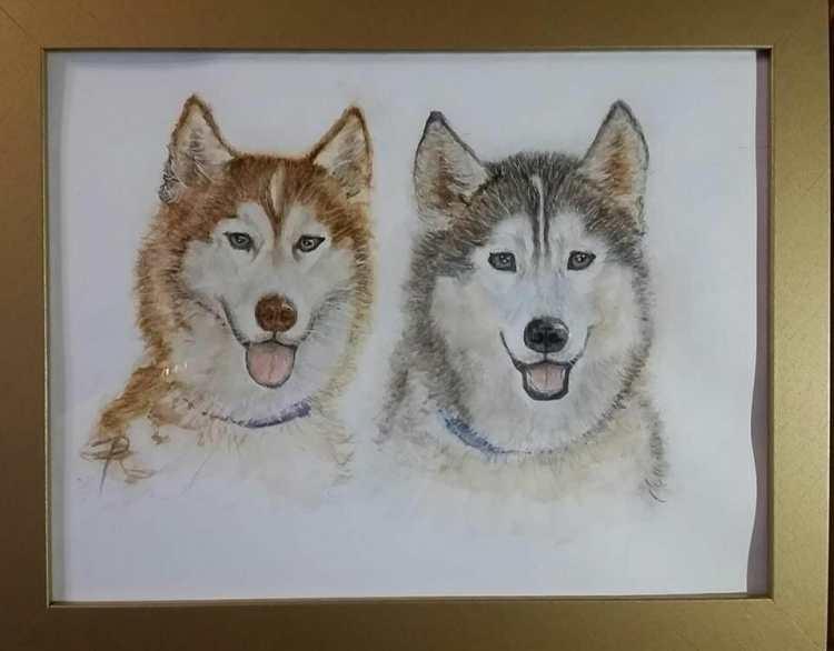 Aspen & Oakley framed