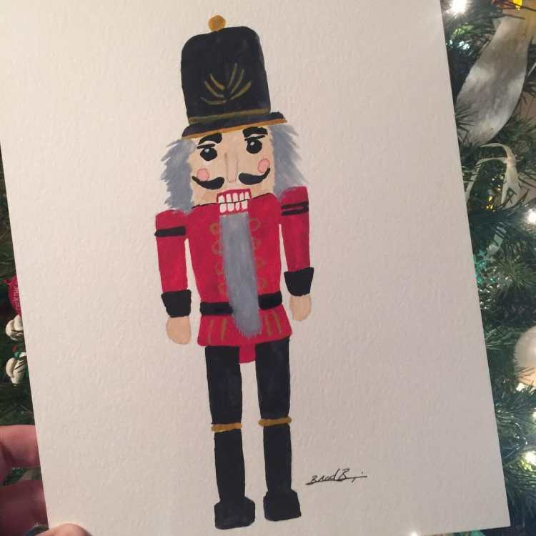 Day 16 – Nutcracker – It is Christmas Eve. In just a few hours, the clock will chime mid