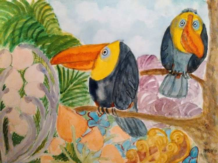 Two toucans. IMG_20171203_232150 (1)