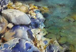 Study of riverbend rocks. 20170507_205406