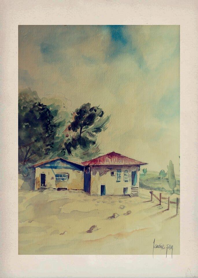 KADİR SEN ARTWORKS – WATERCOLORS Watercolor by #KadirSen #watercolor #artworks #World Waterco