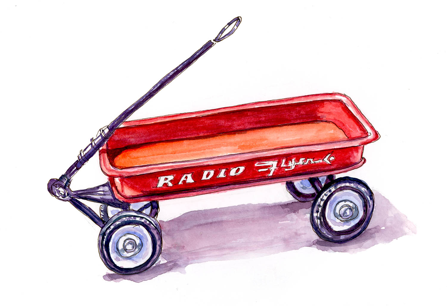 A Little Red Wagon Doodlewash 174