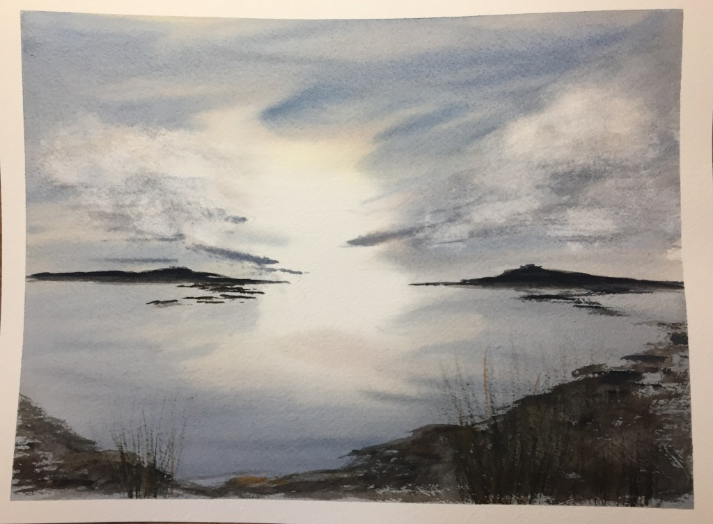 For day 6 ( blue aka grey?)sky and day 7 reflections. Practice, practice,practice.. .clouds, light,