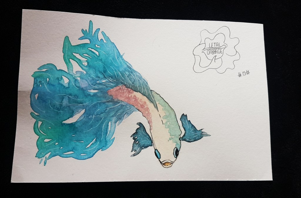 🐠 Fish 🐠 | Fifteenth challenge! Tomorrow more 😄 IMG_20180217_203340_046