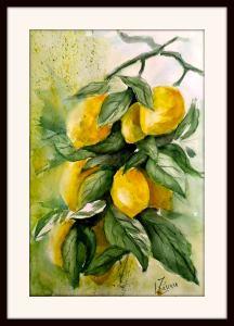 LIMONI Acquerello su carta Fabriano grana fine 30×45,colori White Nights Sanpietroburgo 1855737