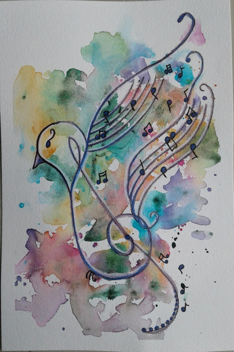 """Day 253…musical In thinking about the prompt """"musical"""", I decided that a cute litt"""