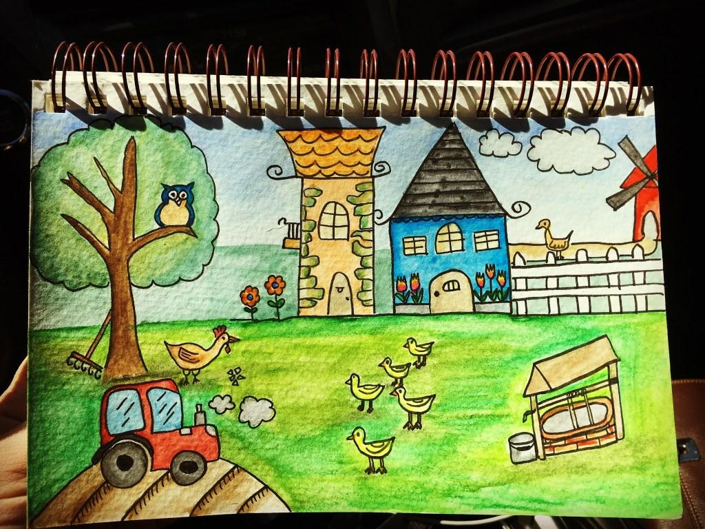 I moved to a farm so I felt inspired! ECE1EA0D-972D-4BCF-BC01-F46263F9D5BD