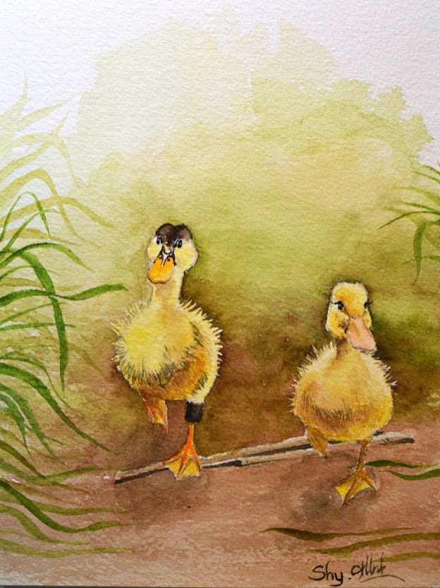 #WorldWatercolorGroup - Watercolor by Hoang Huyen Anh - Doodlewash