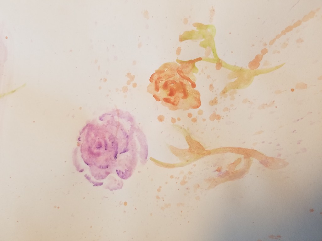 Starting to learn watercolour. watercolour