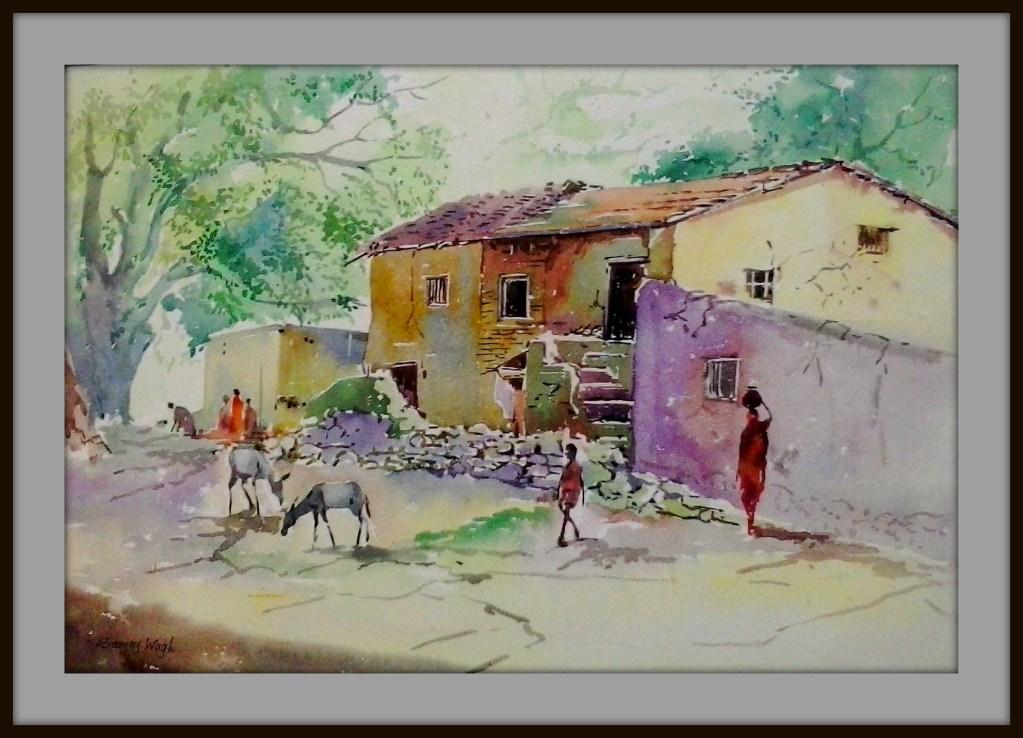 Watercolour Landscape-**PleinAirArt** https://www.facebook.com/chitrakarsanjaywagh sanjaywagh.wordpr