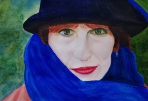 Wendy. Portrait #6. She is wonderfully photogenic and dramatic. Hoping she will like this and I can