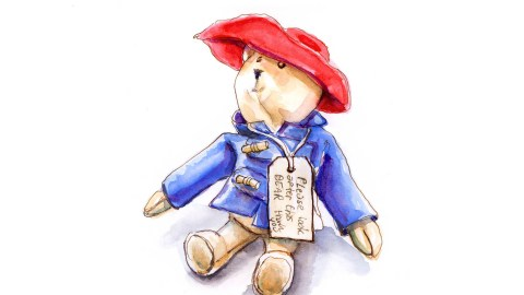Day 12 - The Gift Of Paddington Bear - #doodlewashApril2018 Doodlewash