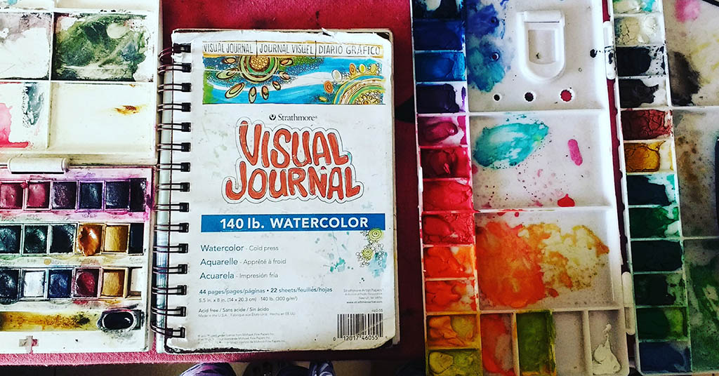 Watercolor Materials of Deboshree - Doodlewash