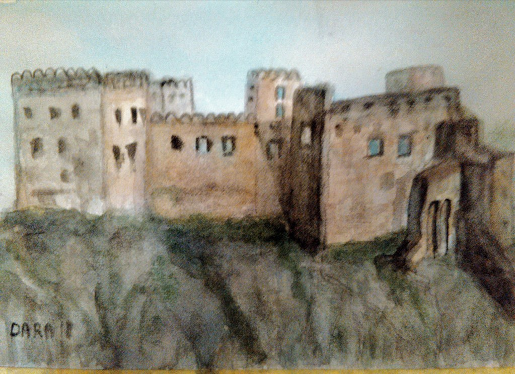 Beckov castle – Slovakia The castle is situated on the cliff near the river Vah, and was used