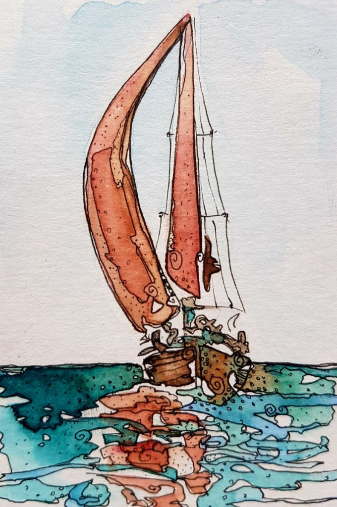 Day 17, Sail boat 20180517_175915