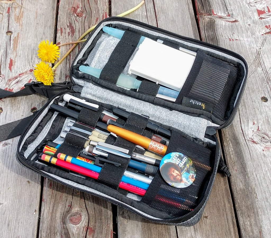 Etchr Art Satchel Field Case ~ Doodlewash®