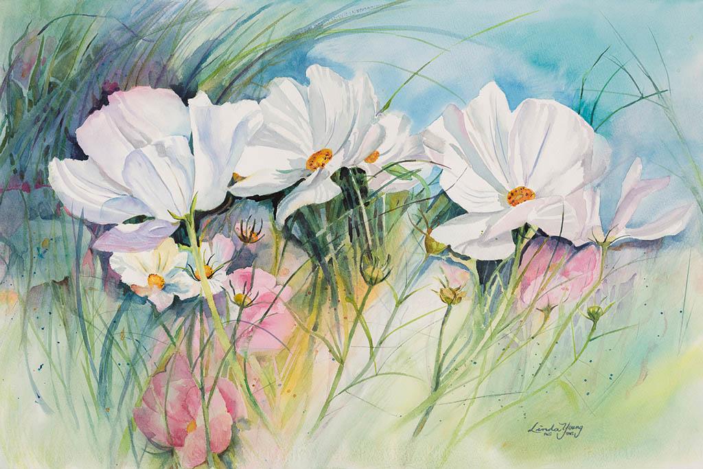Watercolor by Linda Young - Doodlewash #WorldWatercolorGroup