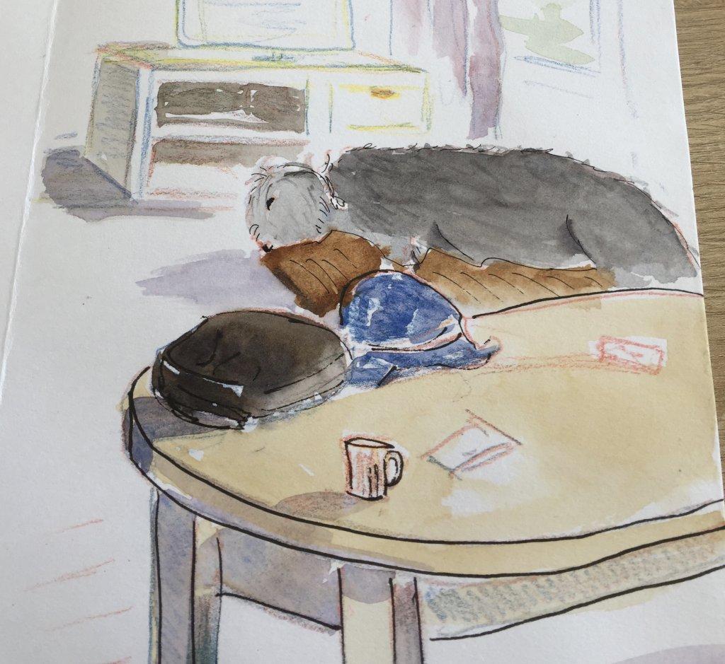 Mum heard a long sigh beyond the coffee table. fullsizeoutput_18ee