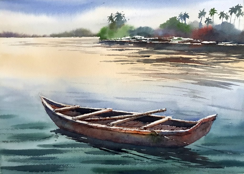 Open country watercolour landscape painting tutorial youtube.
