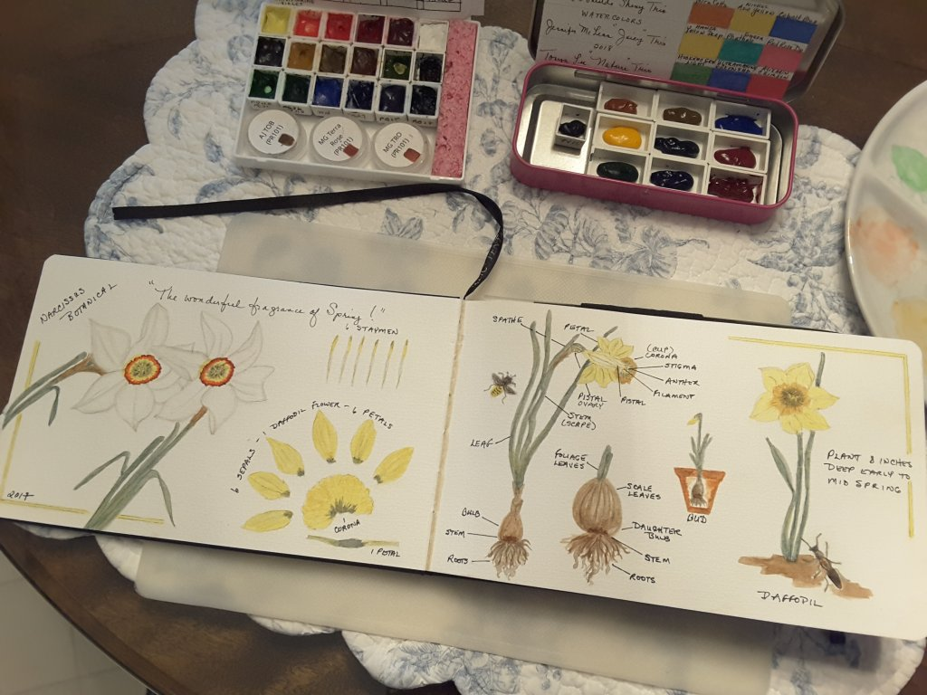 I srarted this journal last spring 2017… 20180601_203956