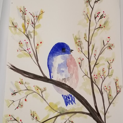 Thank you. I am a hobbyist in ceramics but got interested in watercolor after I under glazed a ceram