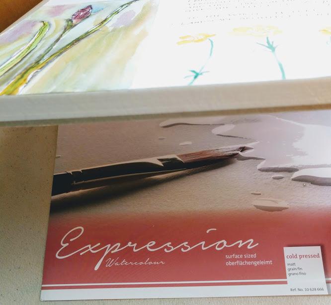 Hahnemühle Expression watercolor block 100% cotton