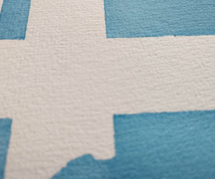 Grain of watercolor paper Hahnemühle Expression detail