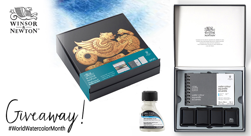 Winsor & Newton Watercolor Giveaway World Watercolor Month