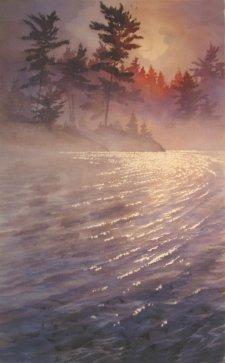 Watercolor Painting by Gordon MacKenzie - Doodlewash #WorldWatercolorGroup #doodlewash