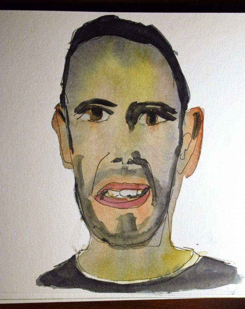 A loose self-portrait. sergio auto