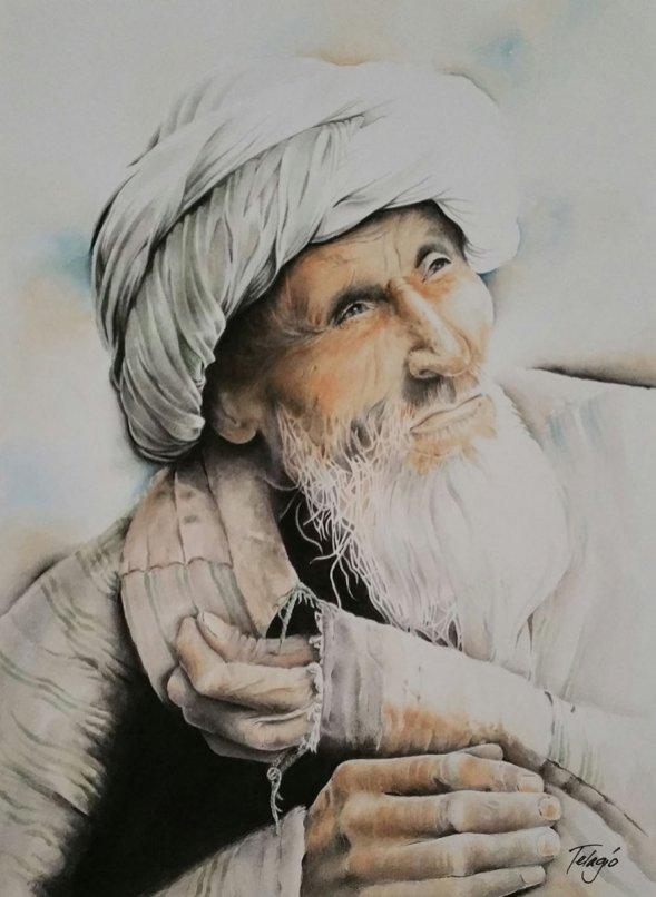 Watercolor Painting by Telagio Baptista - Doodlewash