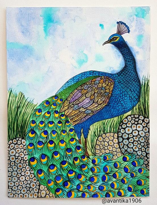 Watercolour by Avantika Shrivastav - Doodlewash