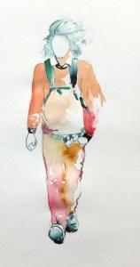 watercolor figure sketch 21