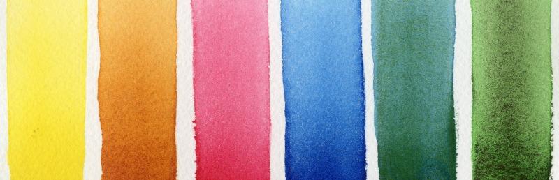 DANIEL SMITH Half Pans Watercolor Set 2 Floral - Colors of Inspiration - Doodlewash
