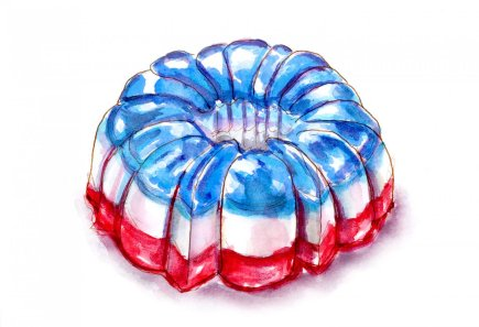 Day 4 - 4th of July Jello Mold Family Memories2