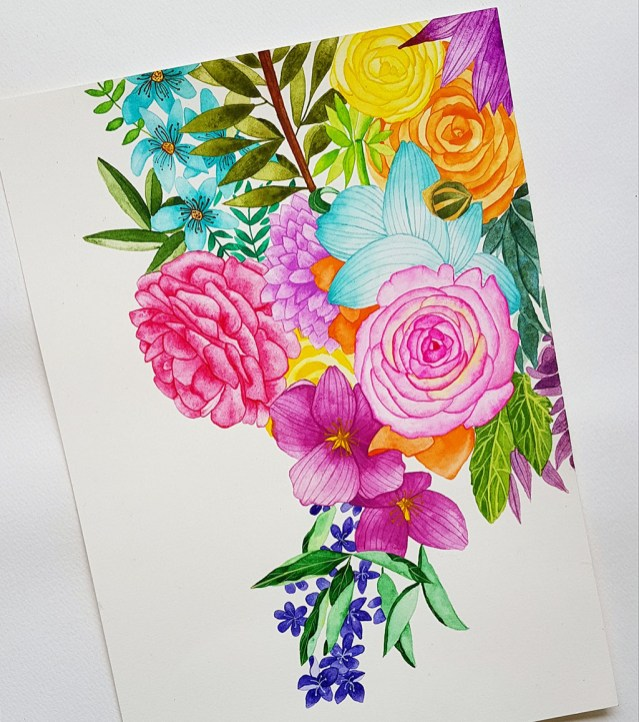 Watercolour by Avantika Shrivastav - Doodlewash