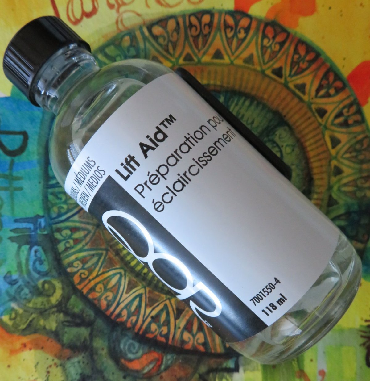 QoR Watercolor Lift Aid Photo