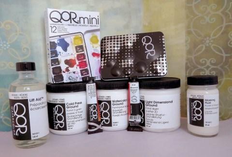QoR Watercolor Products - Doodlewash