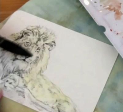 Nickel Azo Yellow Da Vinci Watercolor